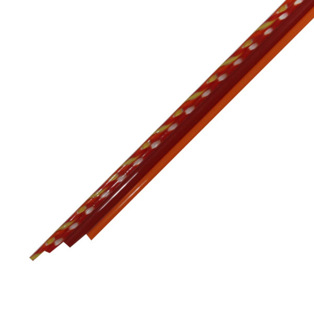 Twisted Cane Assorted Pack, Red, COE90
