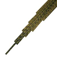 Twisted Cane Deep Cobalt Blue, Spring Green and Black Single Twist Cane COE90