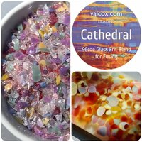 Val Cox Frit Blend Cathedral COE96