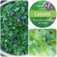 Val Cox Frit Blend Catmint COE96