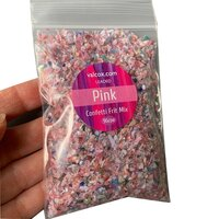Val Cox Frit Blend Pink Confetti COE96