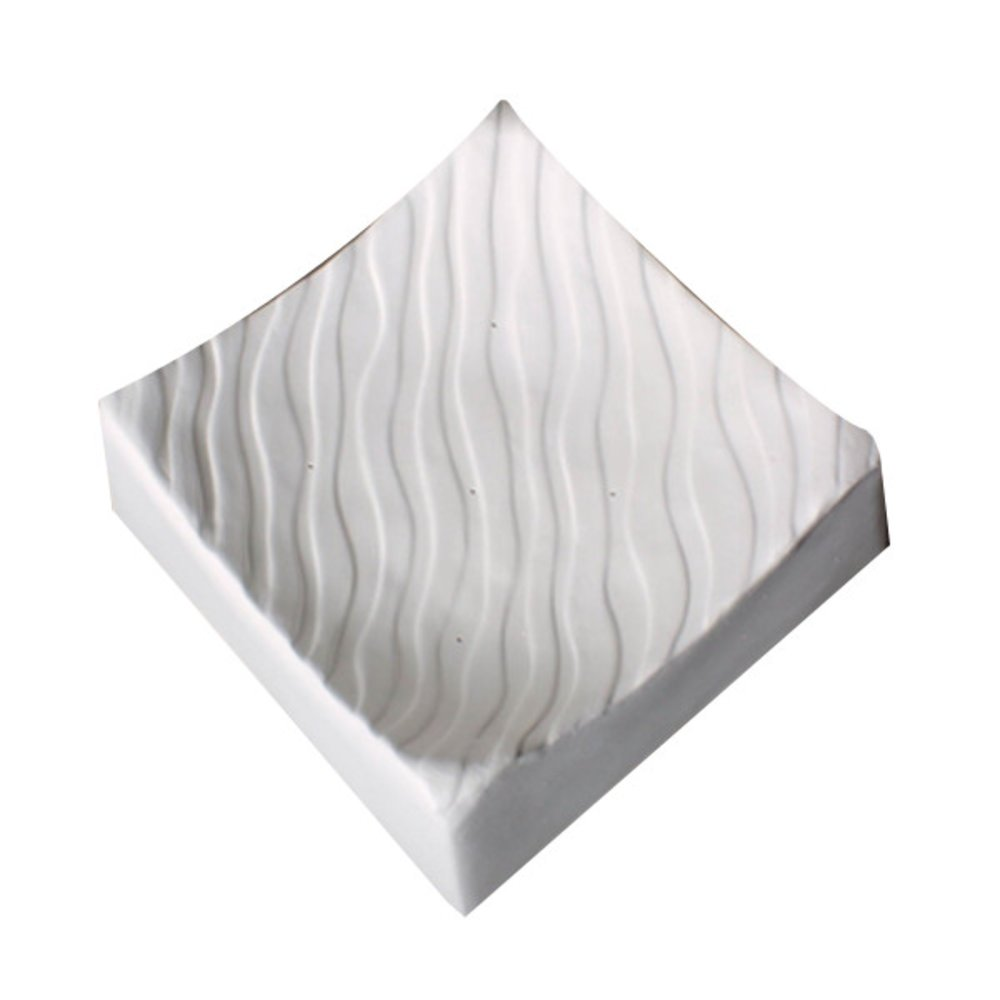 Wave Textured Square Slumping Mold