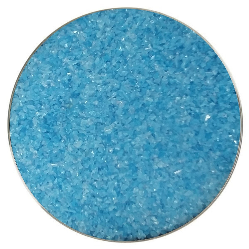 Wissmach Glass Reactive Blue Opalescent Frit COE96