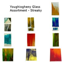 Youghiogheny Glass Assortment Streaky COE96